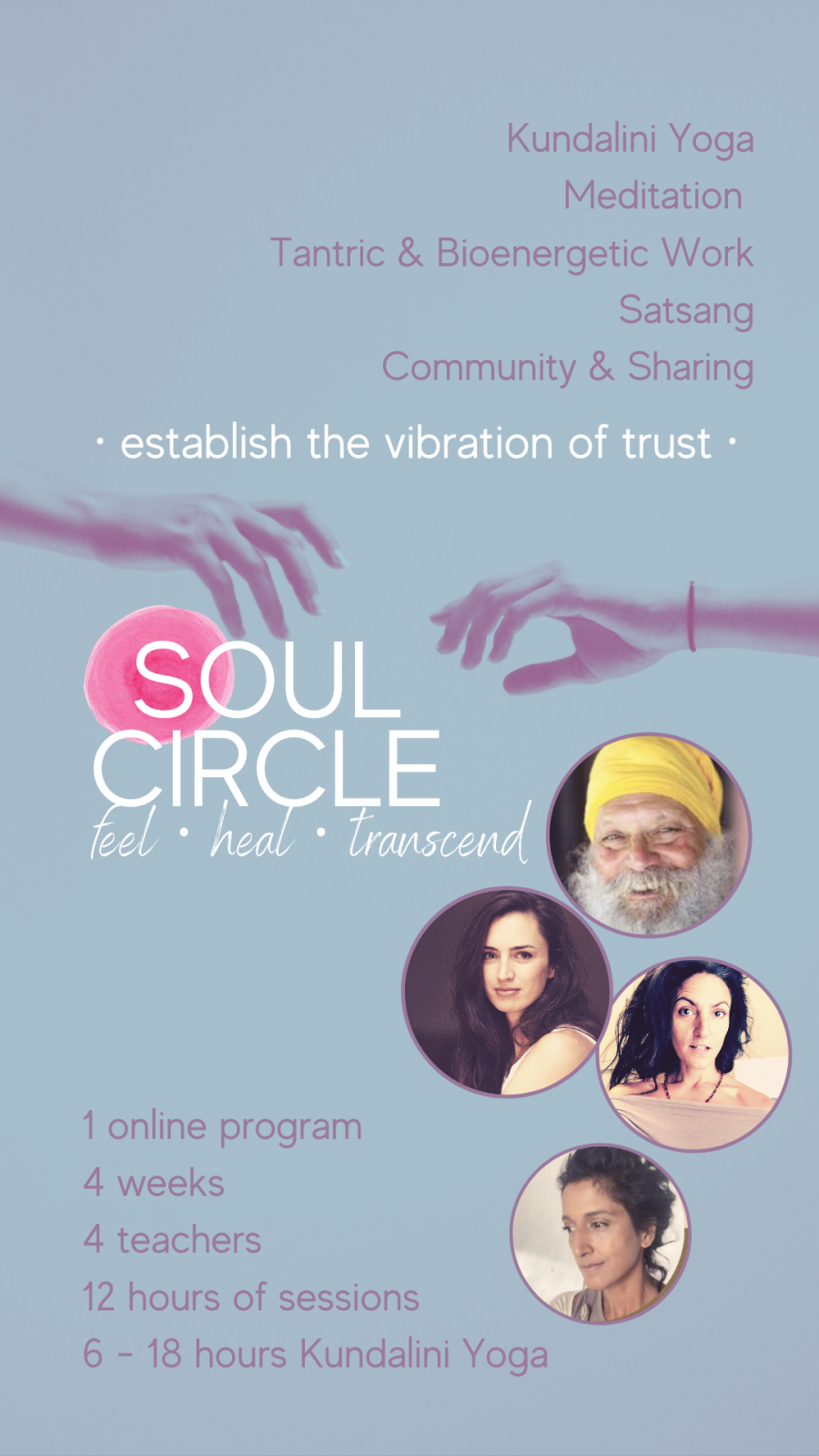 Soul Circle | ONLINE masterclasses with Kundalini Yoga, Tantra and Community